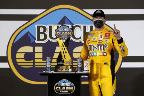 Kyle Busch is 16/1 to win 2021 O'Reilly Auto Parts 253 at Daytona