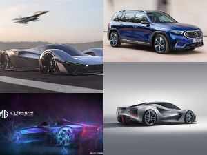 EV News Round-up Mercedes-Benz EQB MG Cyberster Concept Ford Mustang Hypercar Hyundai i10 EV and Lotus