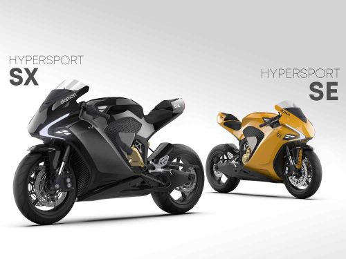 Damon Motorcycles Electric Hypersport SX and SE Preview