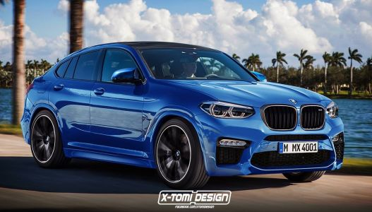 BMW X4 M Rendering Looks A Little Odd
