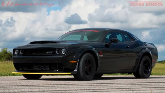 Watch To Hennessey Performance Testing The 895 kW HPE1200 Dodge Demon
