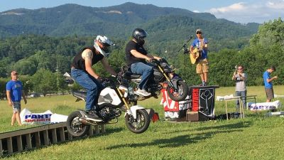 A Small-Bore Motorcycle Festival in the Smoky Mountains