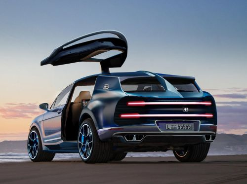 Bugatti Could Be Creating A Chiron-Based Hyper-SUV
