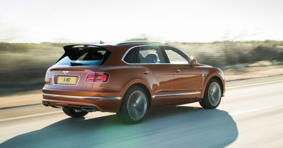 The Bentley Bentayga Speed Is Here And It'll Do 190mph