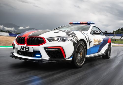 New MotoGP Safety Car Is A Mean BMW M8 Competition