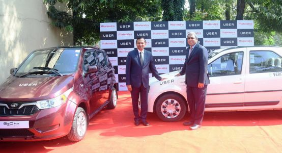 Uber Teams Up With Mahindra To Test EVs In India