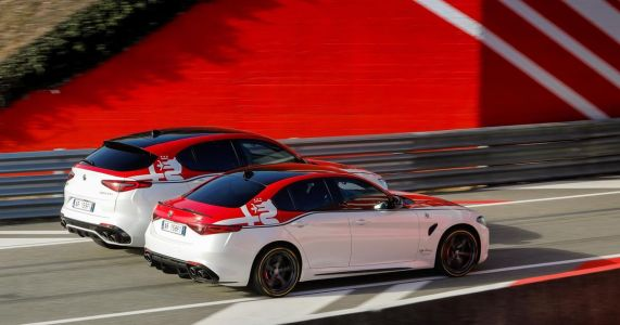 F1-Inspired Alfa Romeo Racing Giulia And Stelvio Quadrifoglio Models Revealed