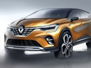 Renault HBC Sub-Compact SUV Spied For The First Time Before Auto Expo 2020