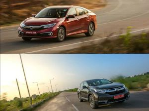 BS6 Effect Honda Discontinues Civic Sedan CR-V SUV Diesel Variants And BR-V In India