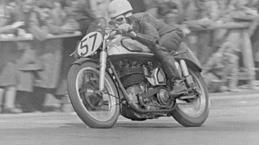 On The Cusp Of Change-Norton At The 1948 Isle Of Man TT