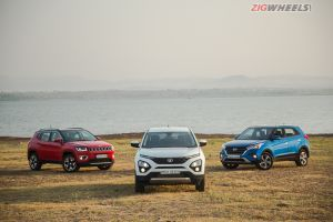Tata Harrier vs Hyundai Creta vs Jeep Compass Comparison Review