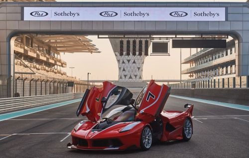 Almost New Ferrari FXX-K Headed for Auction