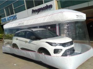 New Tata Models To Be Delivered In Safety Bubble Wrap