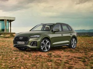 2021 Audi Q5 Facelift Revealed BMW X3 Mercedes GLC Rival India Launch Expected In Early 2021