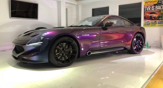 New TVR Griffith Looks The Business With Chameleon Paint