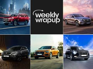 Top Car News India MG Gloster Mercedes-Benz EQC Tata Harrier Dark Edition Audi Q8 Celebratory Edition And Hyundai Creta