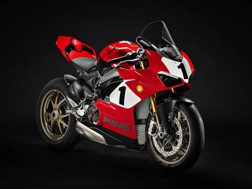 Ducati Panigale V4 Anniversario Auctioned For Carlin Dunne