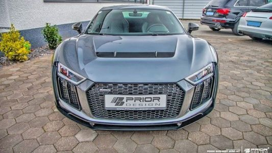 Audi R8 Goes Widebody with New Prior Design Kit