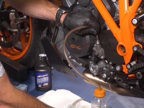 How To Service A Motorcycle's Hydraulic Clutch