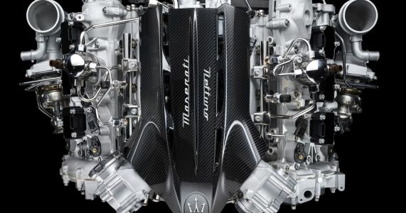 This Is Maserati's New 613bhp Midship Twin-Turbo V6
