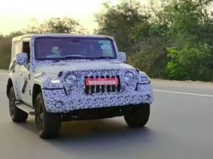 2020 Mahindra Thar Spotted Testing Ahead Of Launch All You Need To Know About The Gurkha And Jimny Rival
