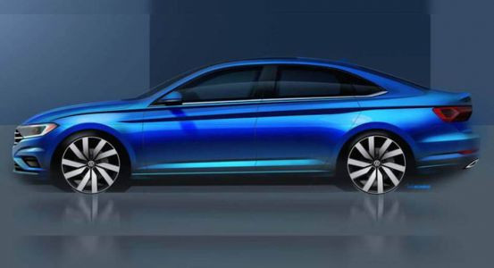 2019 VW Jetta Shows Its Sporty Profile In New Teaser