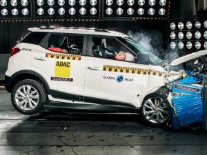Mahindra XUV300 Sub-4m SUV Awarded 5 Stars In Global NCAP Crash Test Higher Than The Tata Nexon And Altroz