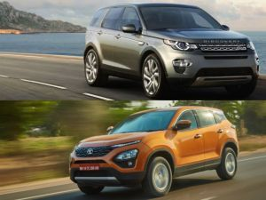 Tata Harrier Vs Land Rover Discovery Sport Same Platform Different Focus