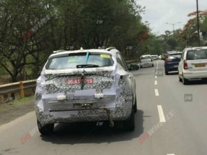 Kia Seltos Spied Undergoing Emission Tests In India