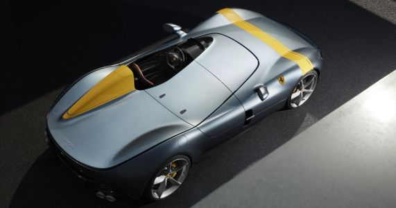 The Ferrari SP1 Is A Single-Seater Speedster Beauty With 812 Guts