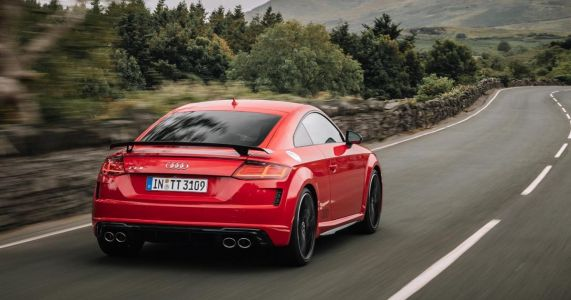 The New Audi TT S Is Less Powerful But Slightly Faster