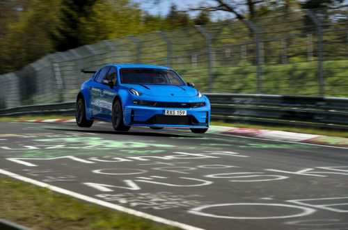Lynk&Co 03 Cyan Concept Sets Fastest Four-Door and FWD Time At Nürburgring