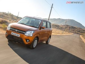 Maruti Suzuki Wagon R BS6 CNG Hatchback Launched In India At Rs 525 Lakh
