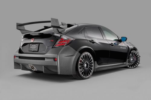 Mugen RC20GT Is A Dramatic Take On The Honda Civic Type R