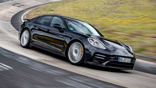 Hot New Porsche Panamera Model Sets Specific Nürburgring Record