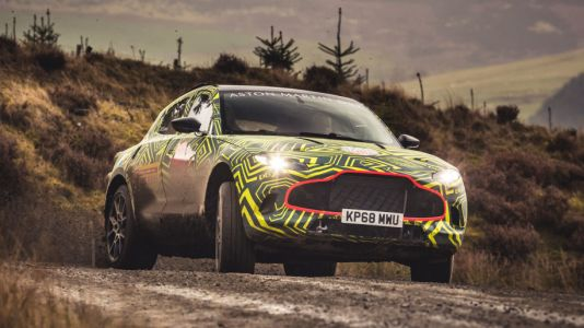 Aston Martin Confirms DBX Name For SUV and 2019 Arrival