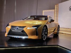 Lexus LC500h Launched In India At Rs 196 Crore