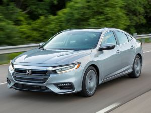Honda Insight Hybrid Sedan Spotted Testing In India For The First Time