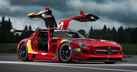 Mercedes Just Made Its First SLS AMG In Six Years To Honour The Red Pig