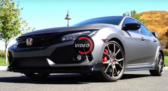 Matte Black Civic Type R Shows How Vinyl's Done Right