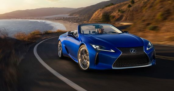 Behold The Beautiful Lexus LC 500 Convertible