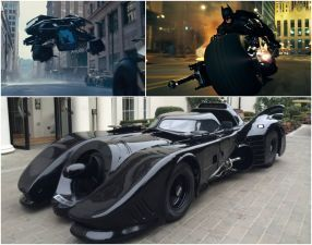 Batman And His Wheels Of Justice