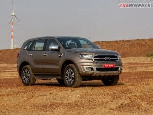 Ford Endeavour 32-litre vs 20-litre AT 4X4 Performance And Fuel Efficiency Compared