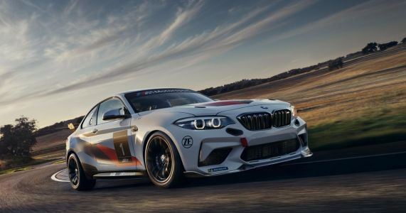 The BMW M2 CS Racing Is A Less Powerful, More Hardcore Version Of The Road Car