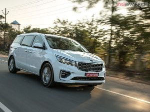 Kia Carnival Premium MPV In Detailed Images