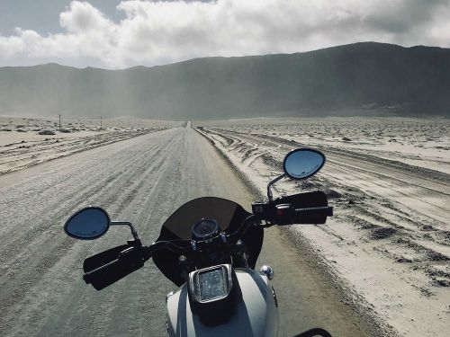 Adventure-Touring An Indian Scout Sixty In South America