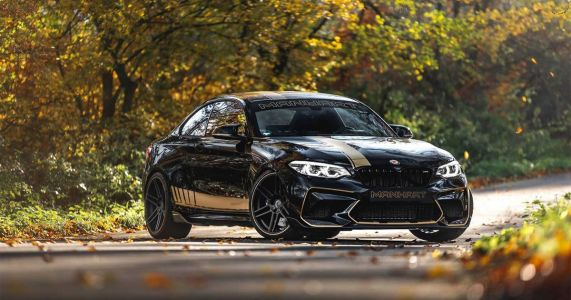 The Manhart MH2 550 Is A Fire-Breathing BMW M2 With A Bad Attitude