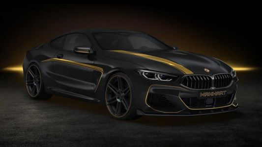Manhart's Mean BMW M850i Packs 621 HP