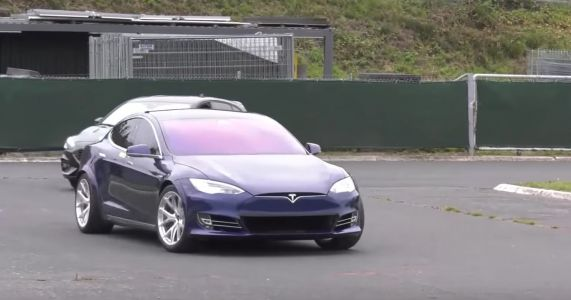 Tesla's Brief And Bizarre Nurburgring Stint Proves Absolutely Nothing