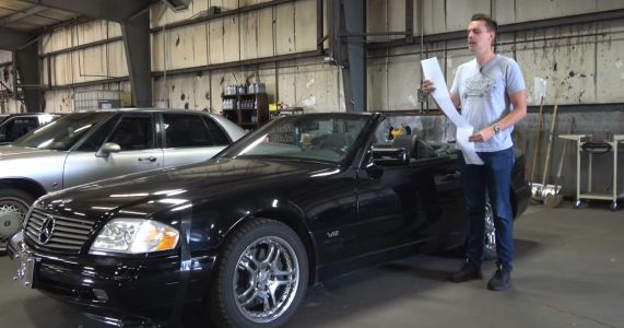 Would You Buy This Fault-Packed V12 Mercedes SL 600 For $5000?